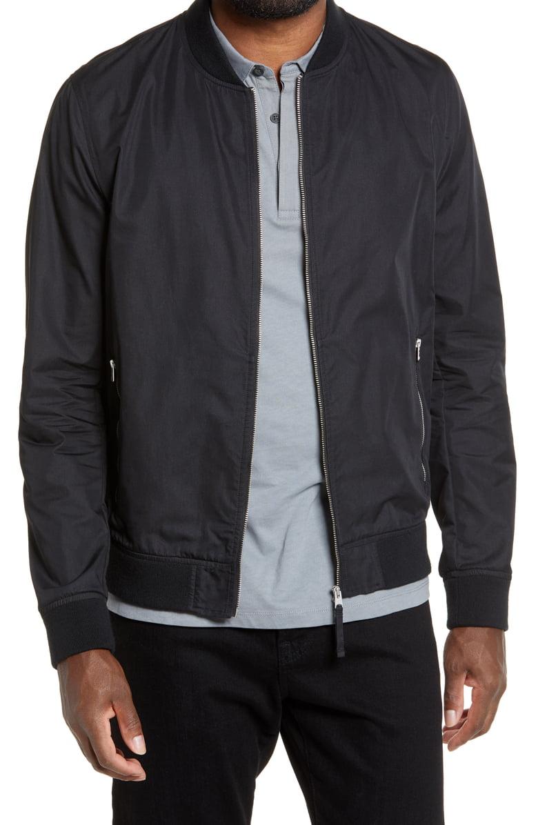 Allsaints Udan Slim Fit Bomber Jacket Nordstrom Slim Fit Bomber Jacket Bomber Jacket Bomber Jacket Fashion [ 1196 x 780 Pixel ]