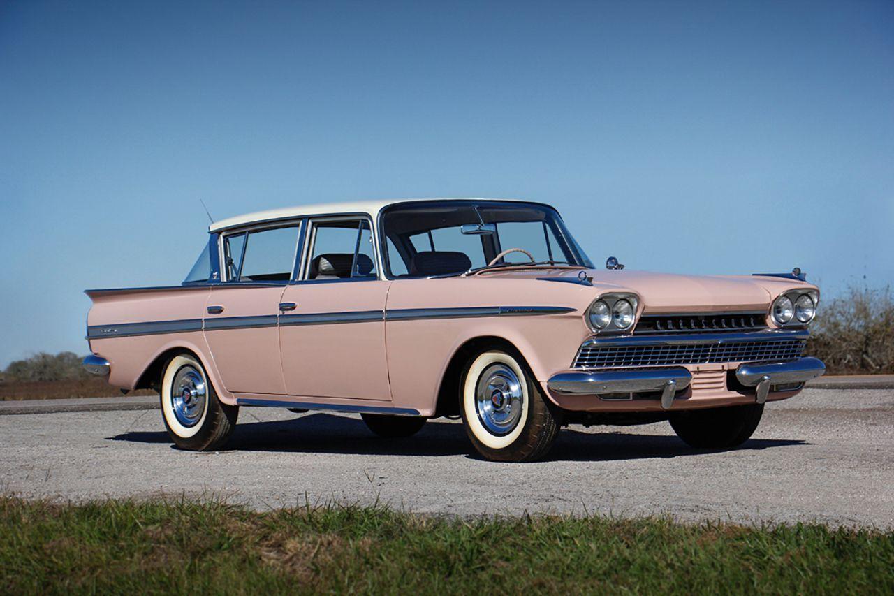 60 Rambler Ambassador 4 Door Sedan Vintage Muscle Cars Classic