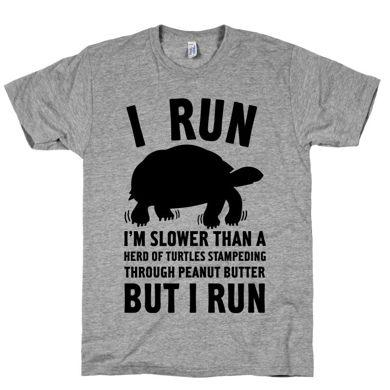 I/'m Slower than a Turtle Funny Men/'s Workout Shirt Fitness Short Sleeve Tee