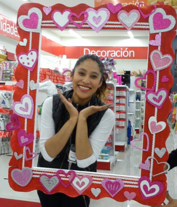 marco para 14 de febrero   ceilin   Pinterest   Marcos, Dia del amor ...