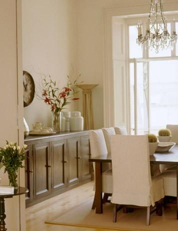 Loving The Built In Buffet On Wall Dining Room