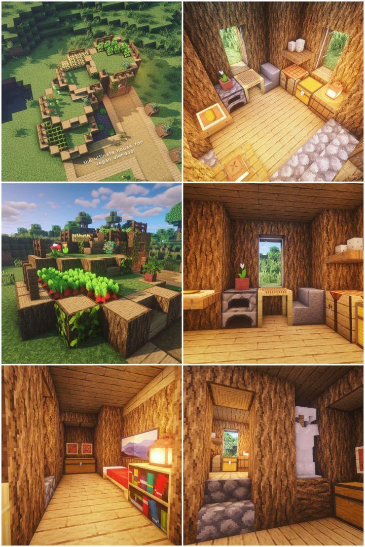 Eco House Minecraftbuildingideas マインクラフトの建物 マイン