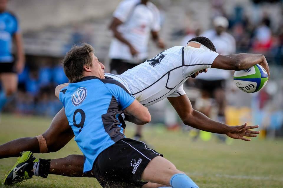 Fiji U20 vs Uruguay this moring at the Junior World Trophy