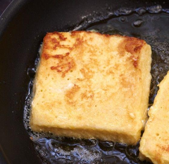 French Toast mit Käse Rezept
