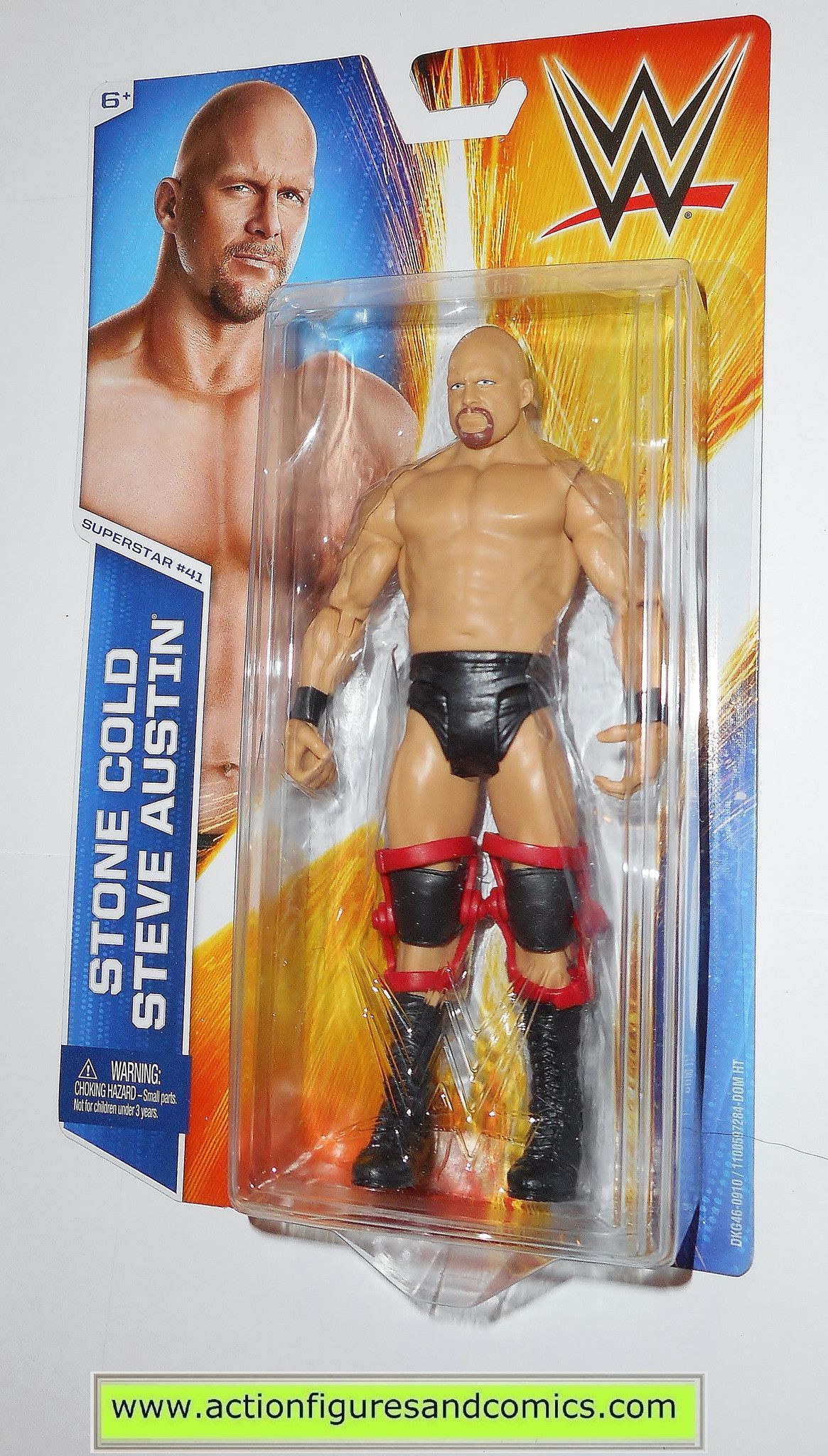 WWE STONE COLD STEVE AUSTIN WRESTLEMANIA 33 BASIC SERIES WRESTLING MATTEL FIGURE