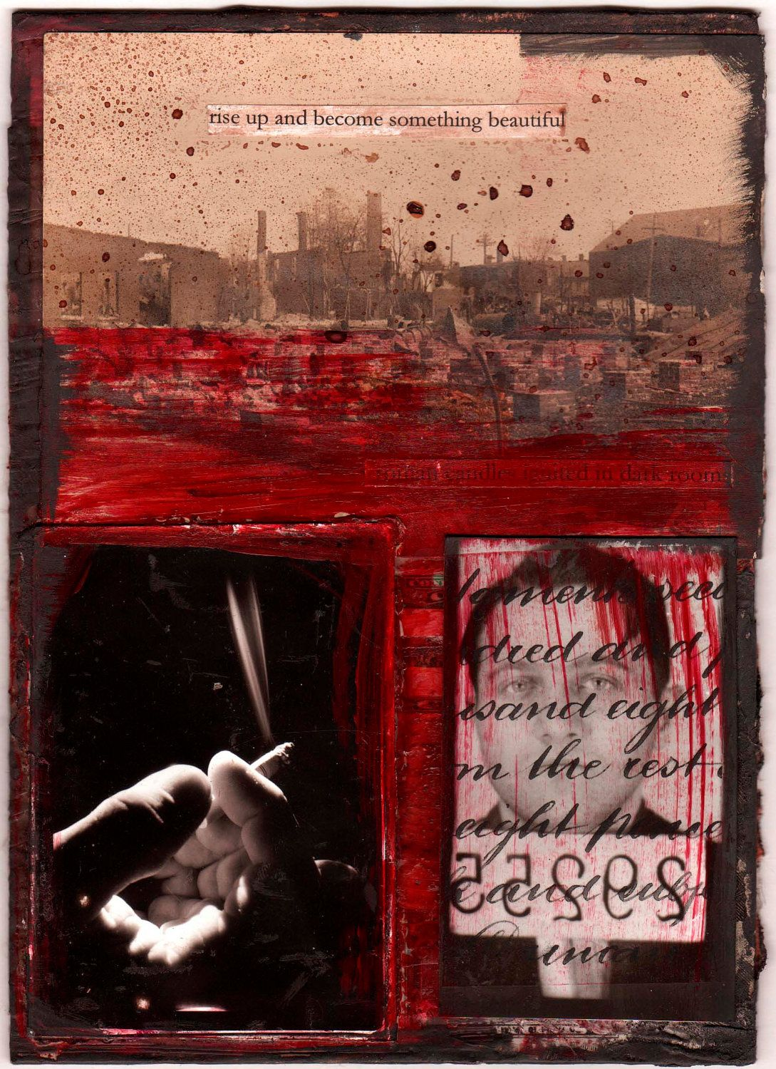 Rise Up. Collage by lisachun on Etsy.