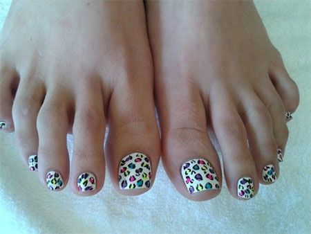 easy zoo  farm animal toe nail art designs  ideas 2014