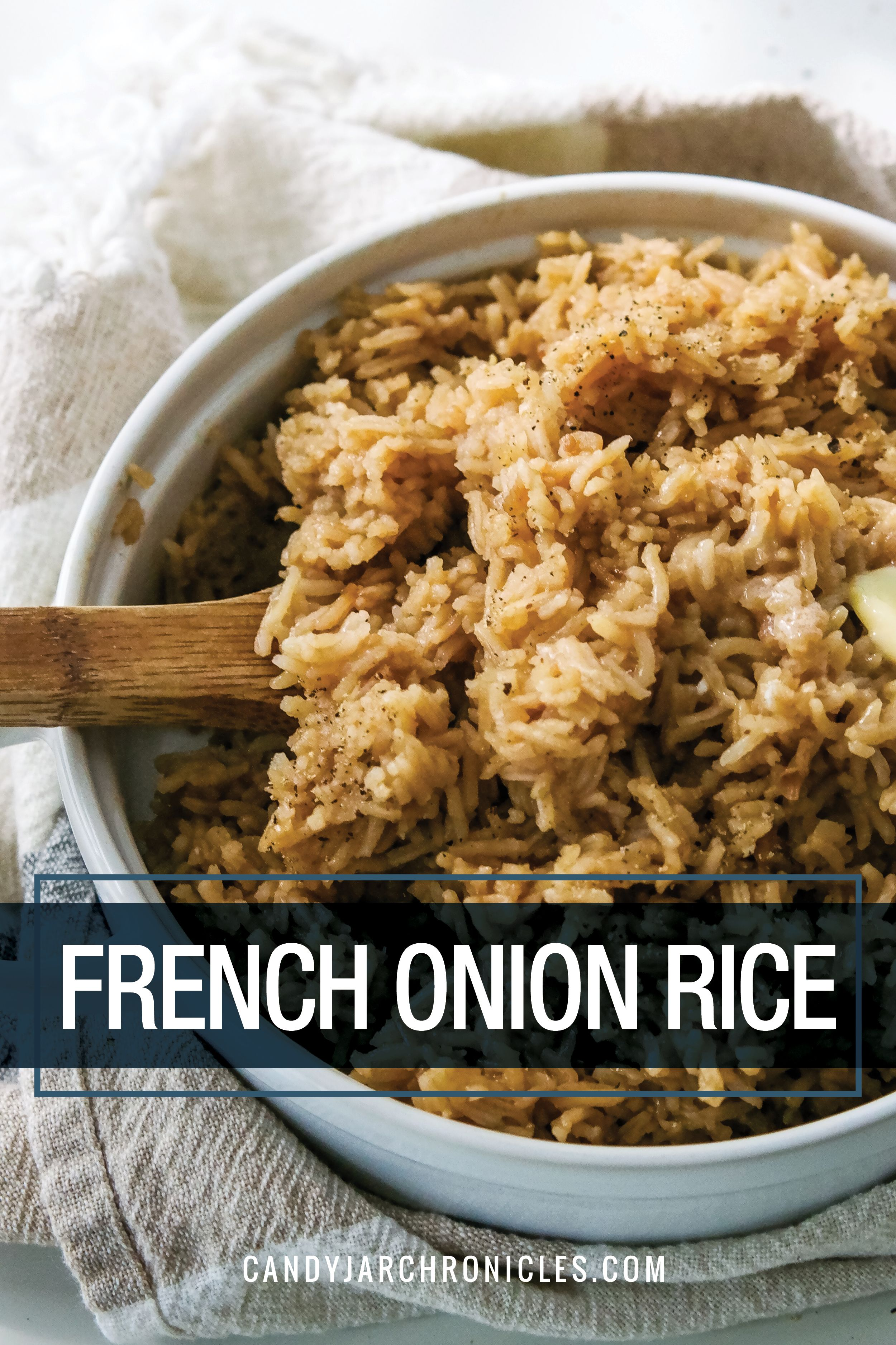 French Onion Rice Recipe Rice Side Dish Recipes Rice Side Dishes Rice Recipes For Dinner