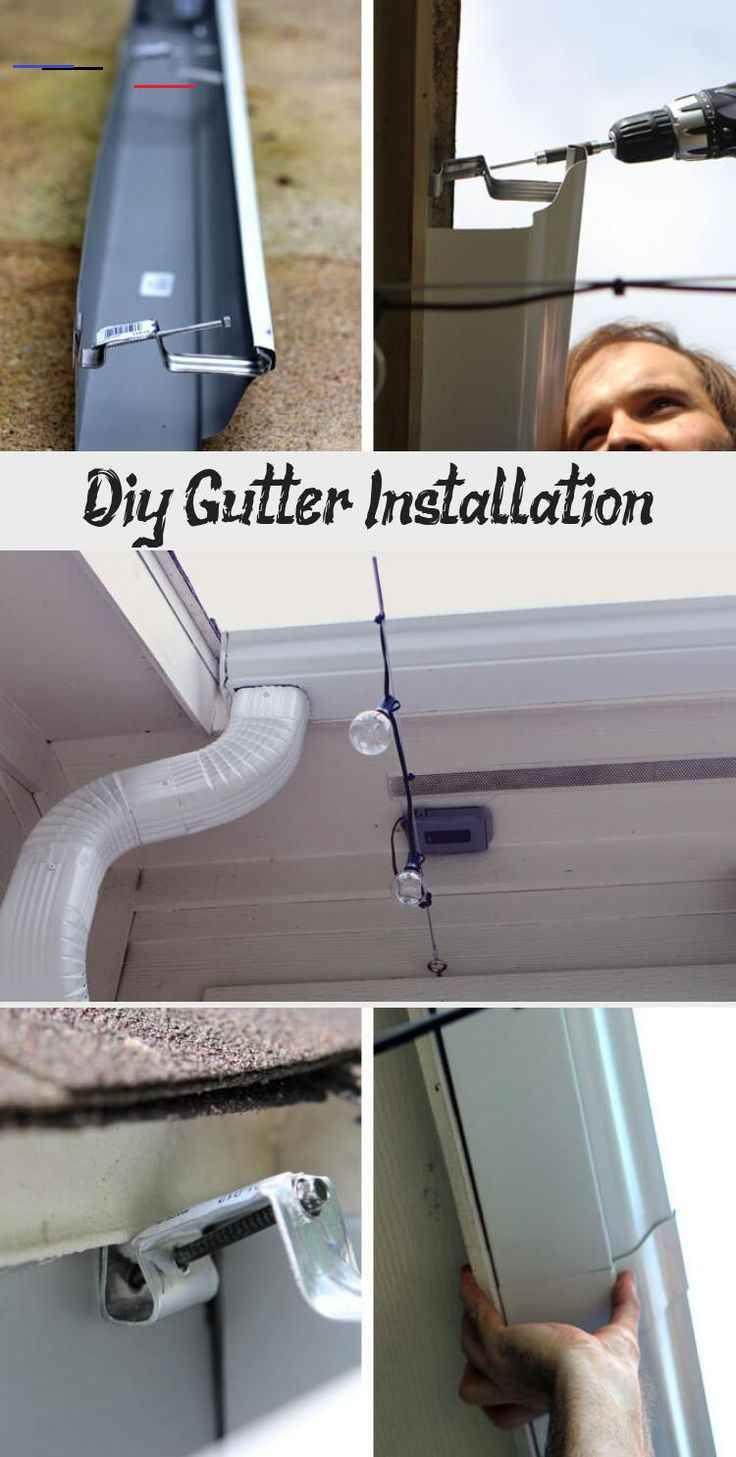 Diy Gutter Installation Pinokyo DIY Gutter Installation