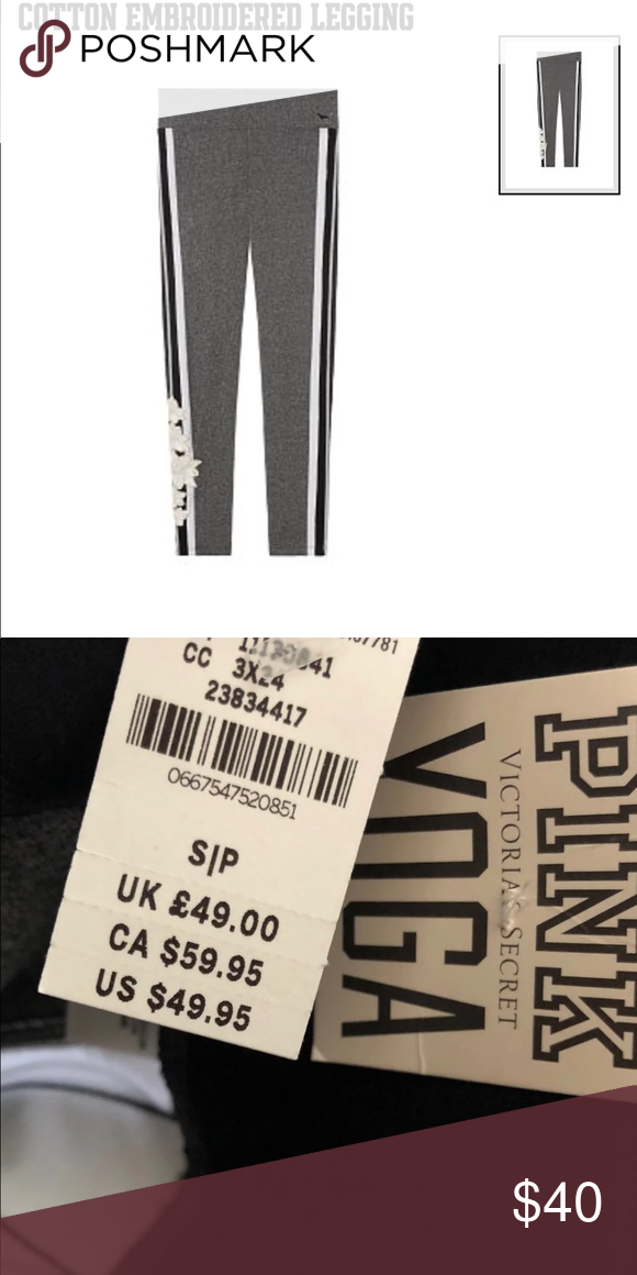 a76db2afb7a9ee Victoria's Secret PINK Cotton Legging