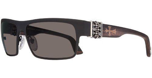 423220bfb62ca8 Chrome Hearts FLAVOR SAVER Sunglasses MBK-WEWE Matte Black-Wood  Ebony/Walnut/Ebony