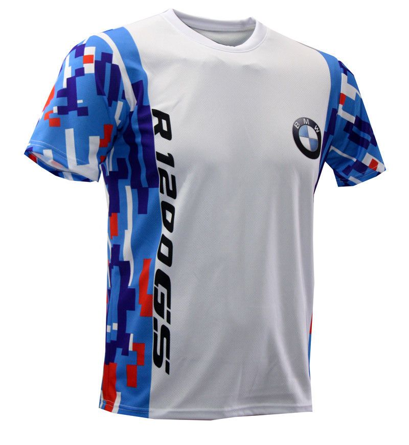 bmw motorrad r1200 gs full sublimation print t shirt. Black Bedroom Furniture Sets. Home Design Ideas