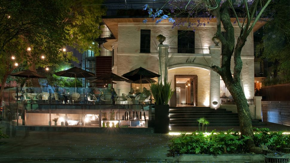 Hotel Brick Mexico City    Brick Hotel is a boutique hotel erected in one of the most vibrating neighborhoods in Mexico City, Colonia Roma, where this grand English-style country house from the early 1900s has been carefully restored and renewed on one of the most iconic streets in la Roma.
