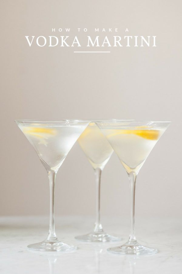 Photo of Classic Vodka Martini with a Twist – The Sweetest Occasion