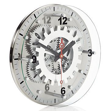 Window Shopping Wednesday Z Gallerie Odds And Ends Gear Wall Clock Wall Clock Gift Clock Wall Decor