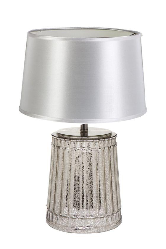 Zari Lamp Base Torin White Shade