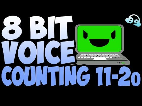 8 Bit Voice Counting 11-20 (FREE TO USE - FREE DOWNLOAD!) - by