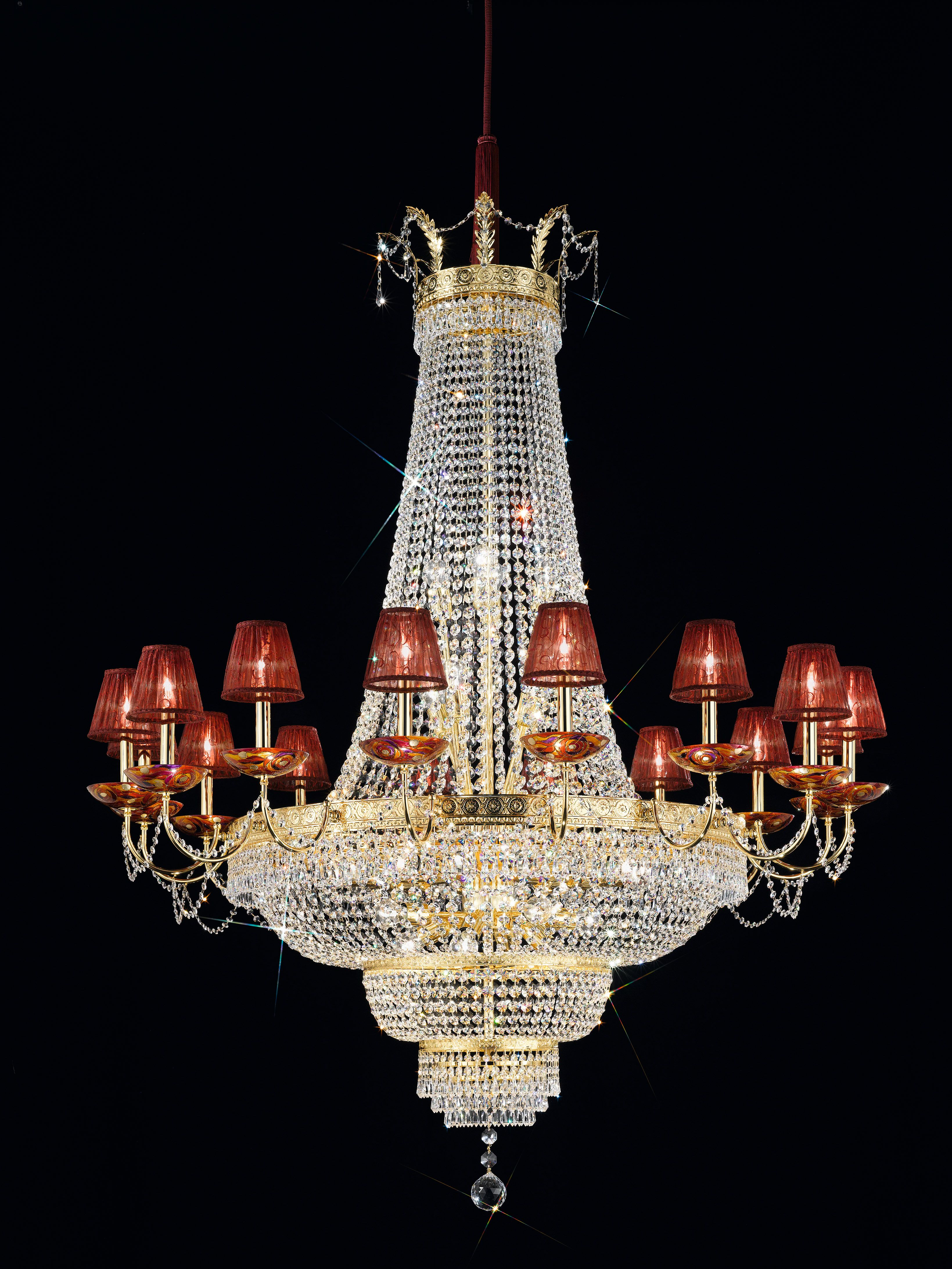 One of our showstopping crystal 24ct gold plated bespoke one of our showstopping crystal 24ct gold plated bespoke chandeliers here is a arubaitofo Images
