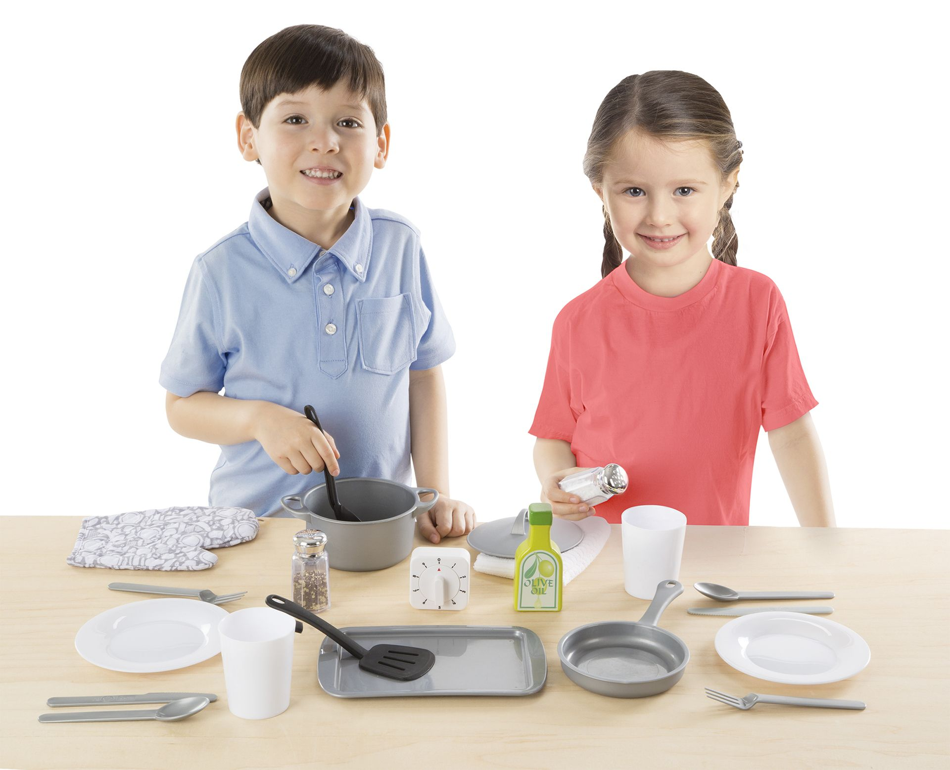 Melissa doug 22piece play kitchen accessories set