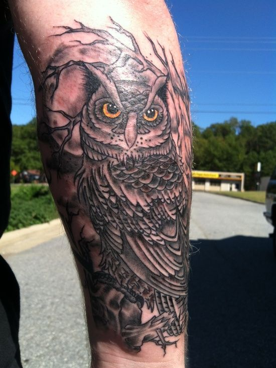 the hubs owl tattoo for men men tattoos tattoos. Black Bedroom Furniture Sets. Home Design Ideas