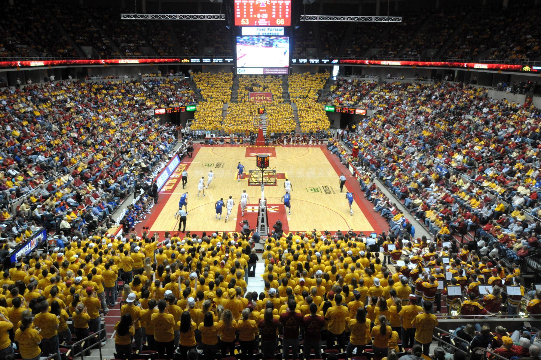 Do You Believe In Hilton Magic Iowa State University Iowa State Iowa State Basketball