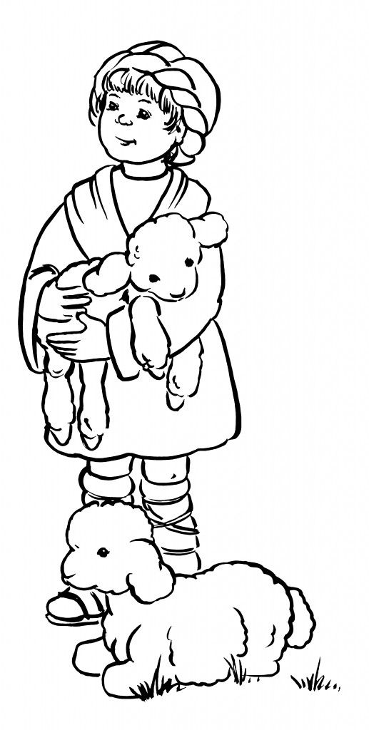 black and white bible coloring pages | Shepherd Boy | Coloring: Bible: general | Bible coloring ...