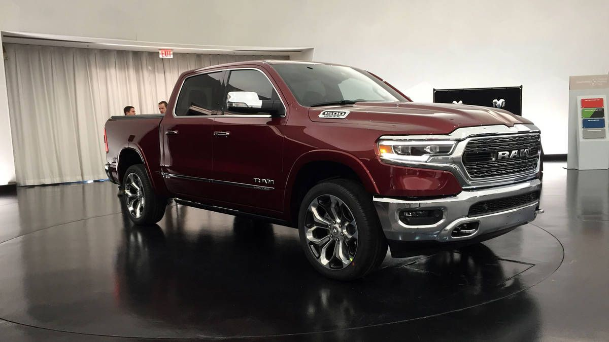 The all new 2019 Ram 1500 for the Detroit auto show ...