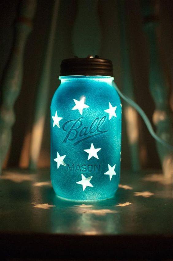 35 mason jar lights do it yourself ideas mason jar lighting jar 35 mason jar lights do it yourself ideas solutioingenieria Image collections