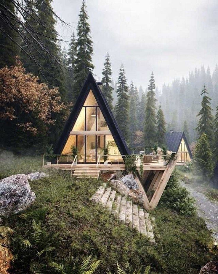 58 Admirable Shipping Container House Design Ideas 1 Agilshome Com A Frame House House Styles House Exterior
