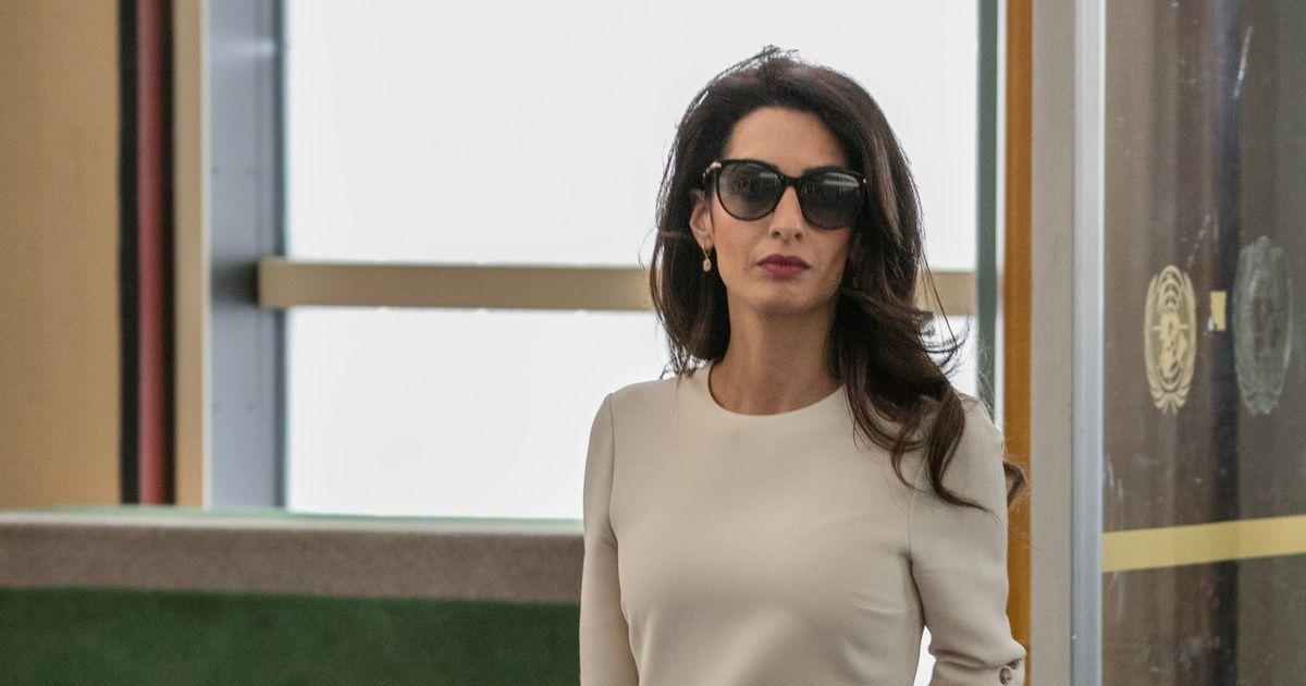 En sus últimas apariciones públicas la abogada libanesa ha dado una lección de estilo.