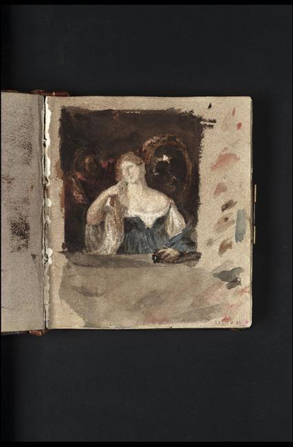 Carnet d'études de William Turner d'après Titien