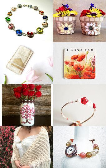 Spring Celebration by Anna Margaritou on Etsy--Pinned with TreasuryPin.com