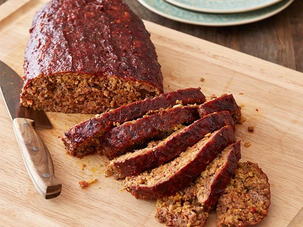 Potluck recipes food pinterest potlucks dishes and meatloaf smoked party meatloaf recipe alton brown food network dianes notes bake 350 degrees for about minutes forumfinder Gallery