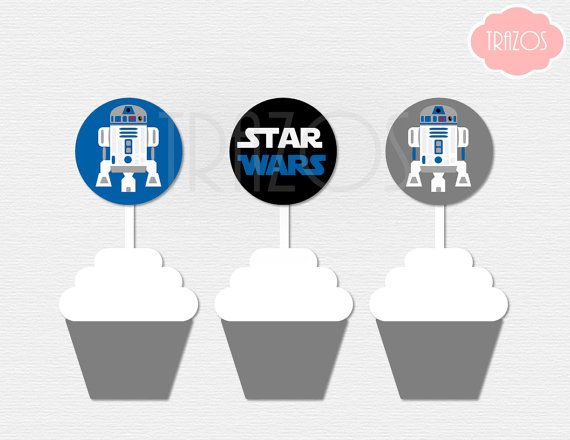 This listing is for PRINTABLE cupcake toppers. You will ...