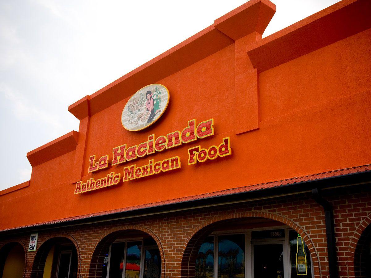 La Hacienda Taqueria Mexican Restaurant Taqueria Nashville Restaurants