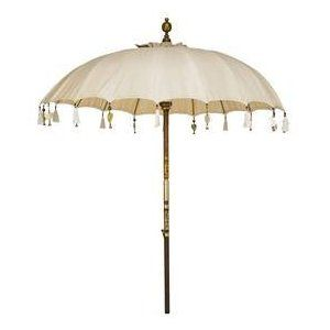 Indian Parasol With Crystal Beads Garden Umbrella Indian Garden