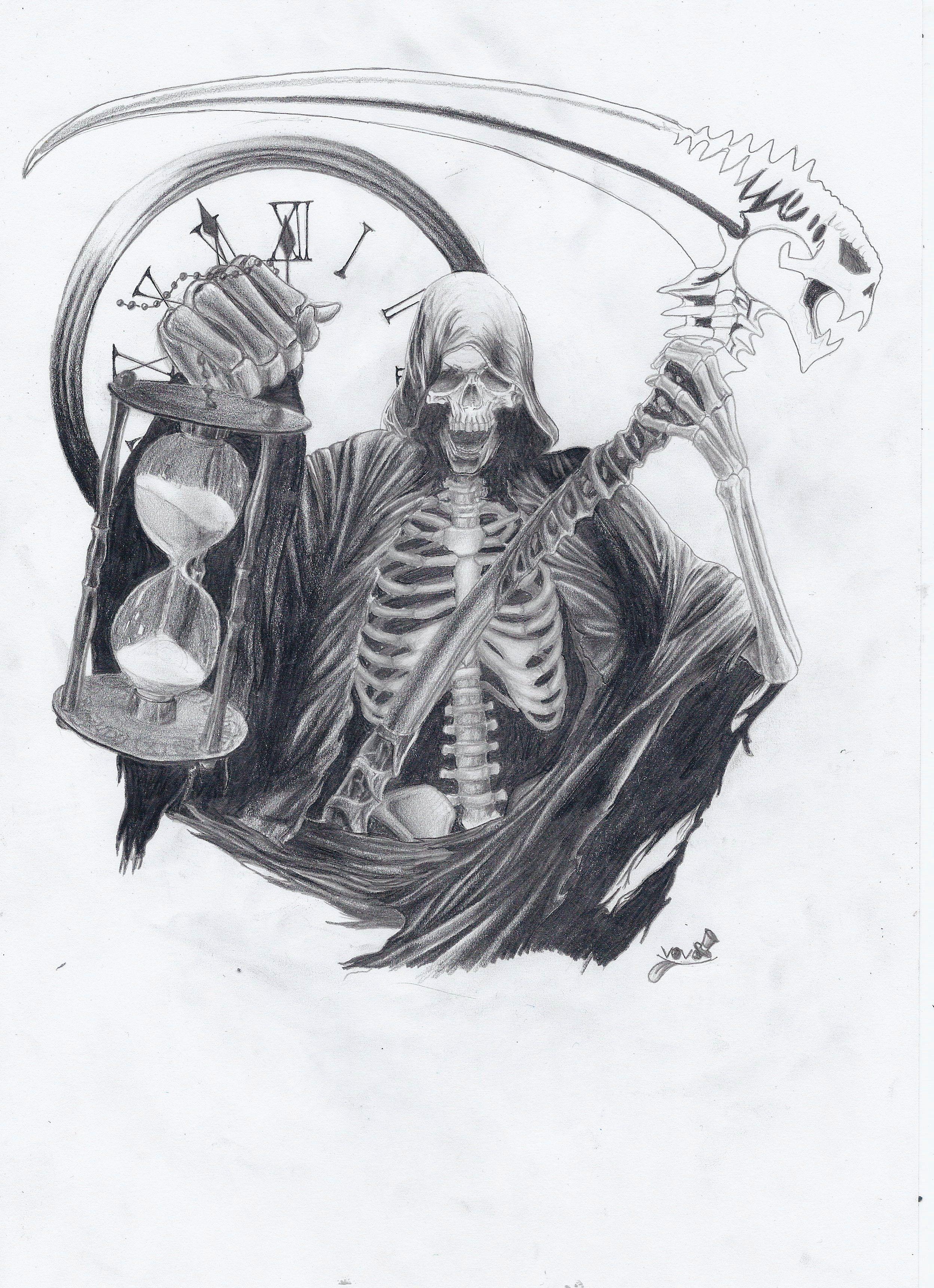 Grim Reaper Tattoo Design Semar | Victory Vision ...