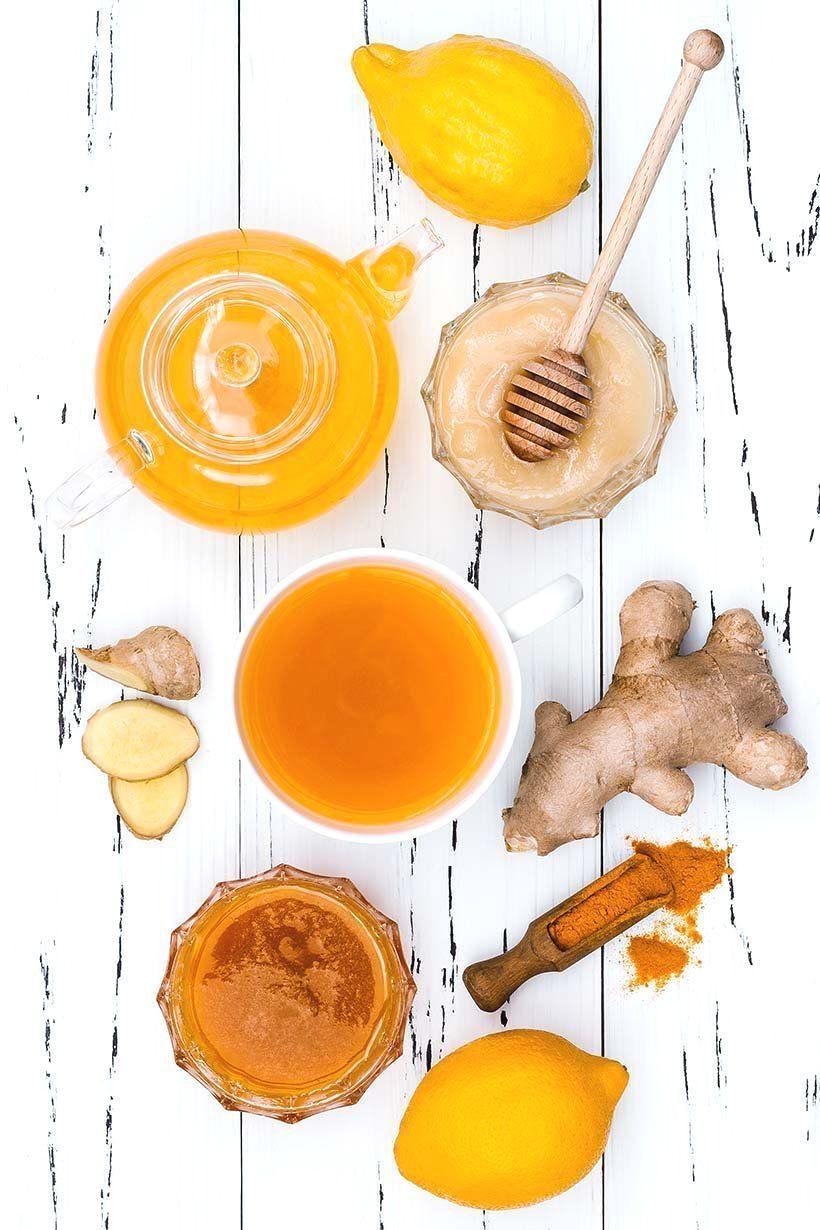 Colds Formula Ginger Green Tea Turmeric Colds Formula