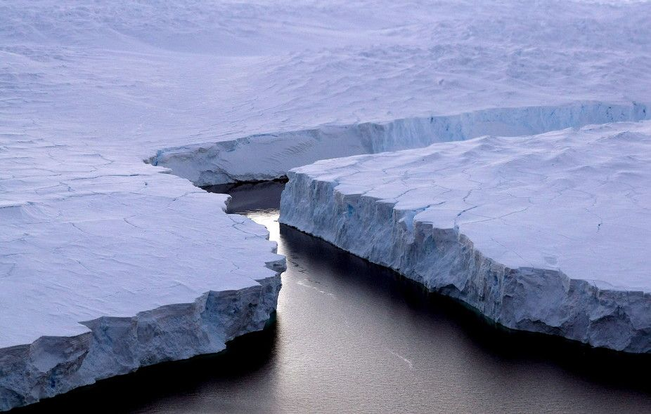 When an Antarctic iceberg the size of a country breaks away, what happens next?