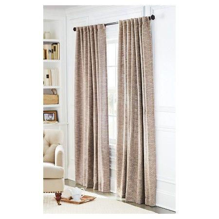 Tweed Curtain Panel TanThresholdTargetschool room