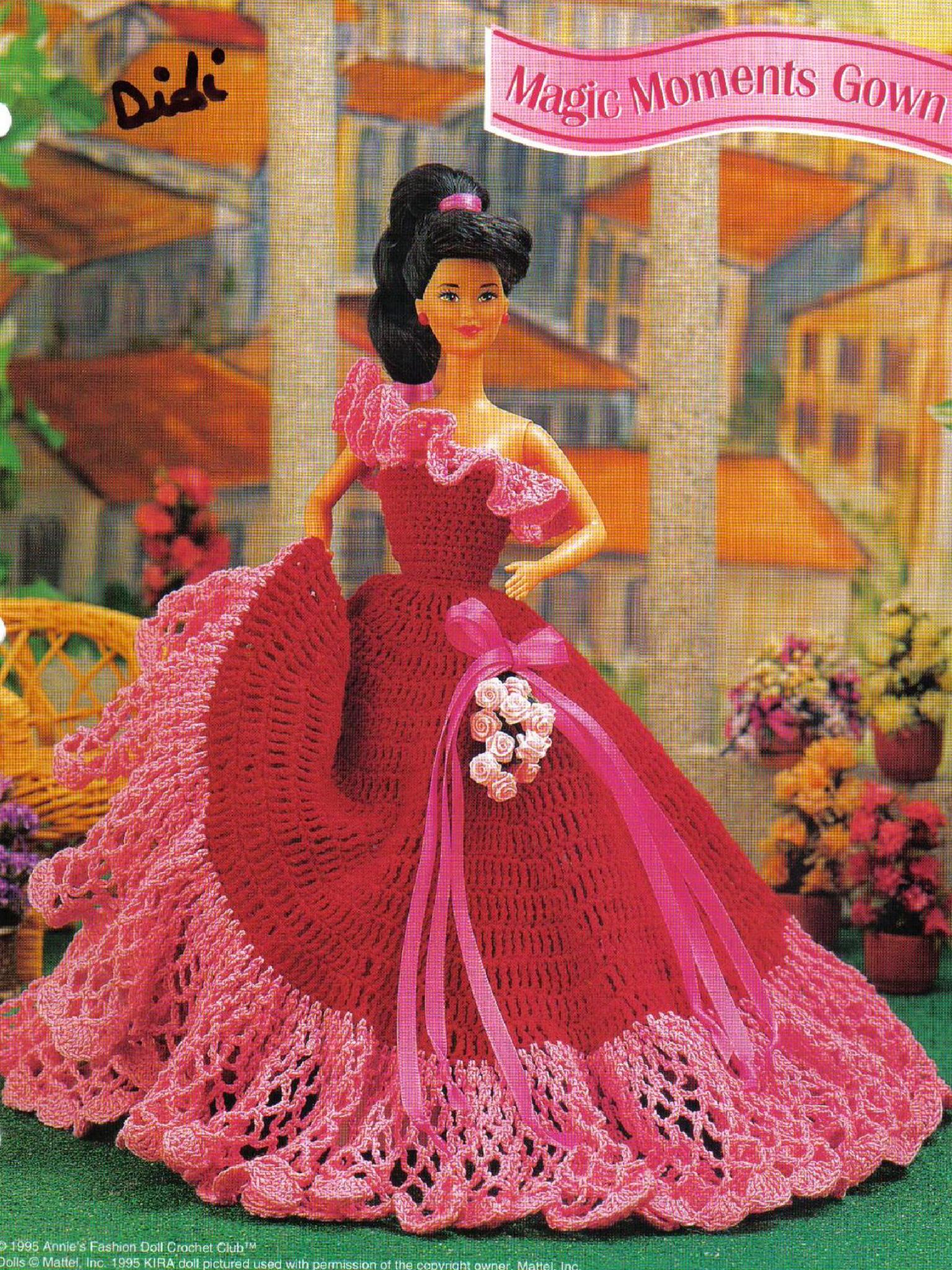 Excelente Patrones Que Hacen Punto Barbie Foto - Ideas de Patrones ...