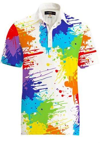880bdc86 Mens Golfing Shirts & Polos by Loudmouth Golf - Fancy Drop Cloth Shirt.  Buy