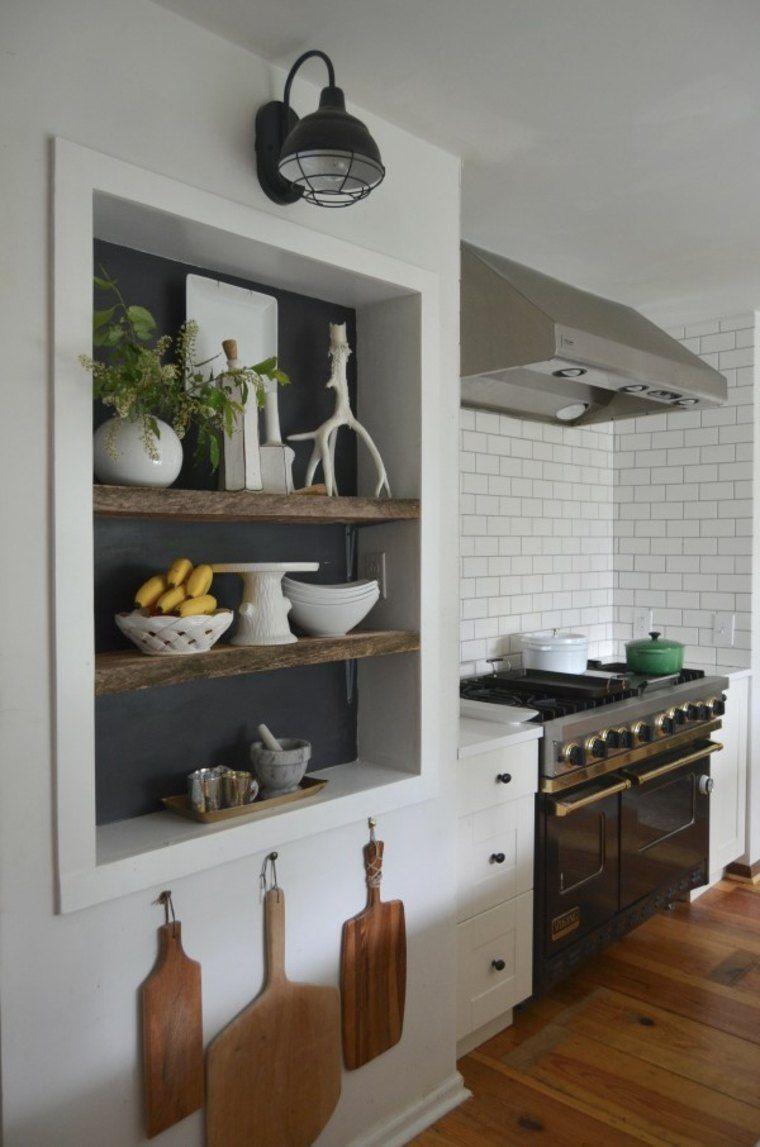 Que faire des niches murales dans la cuisine ? | Decorating Ideas en ...