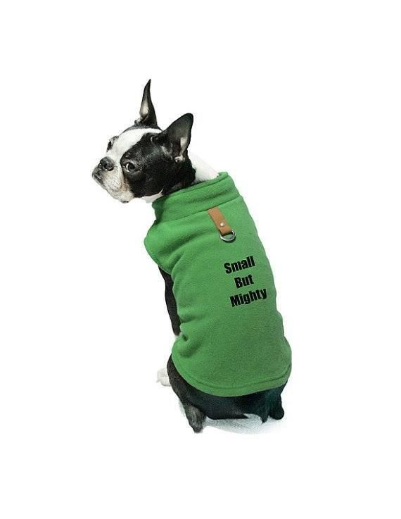 Custom Personalize Design Your Own Fleece Cold Weather Dog Vest