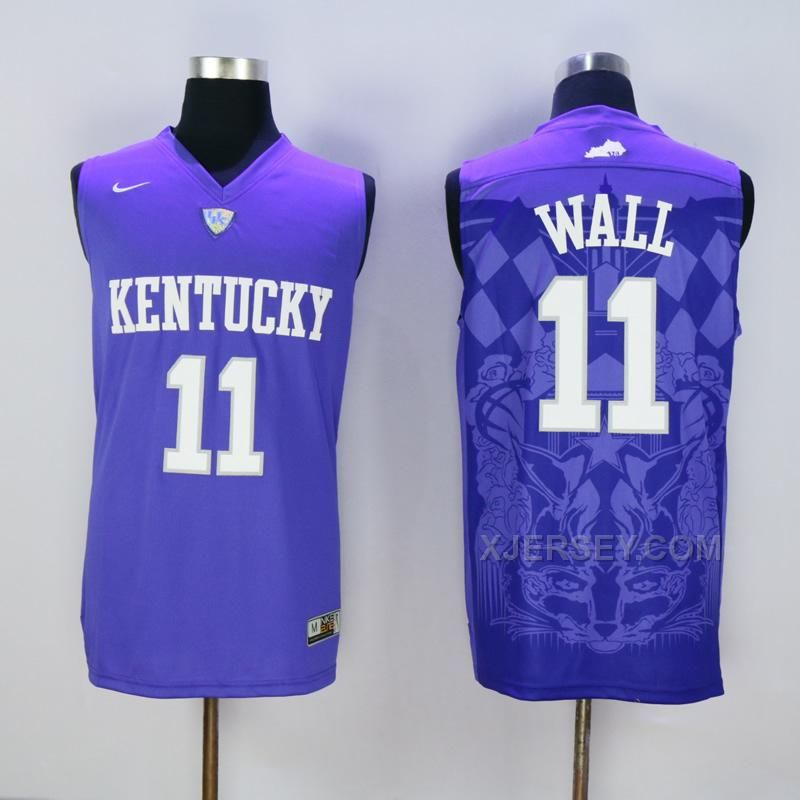 newest collection 6eb1c 30936 kentucky wildcats 11 john wall royal blue college basketball ...