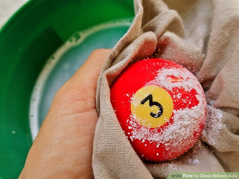 How to clean billiard balls 7 steps with pictures