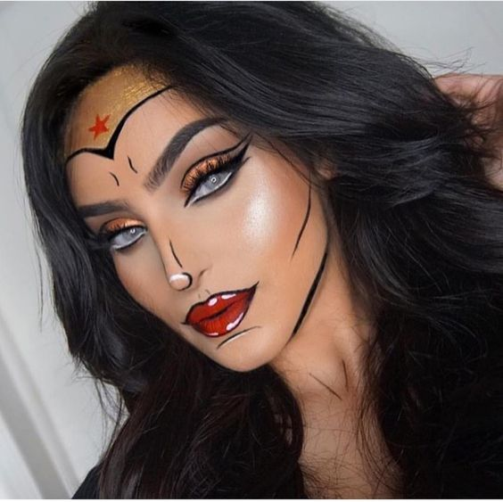 Easy Scary Halloween Makeup Ideas.Scary Makeup Ideas Easy Saubhaya Makeup