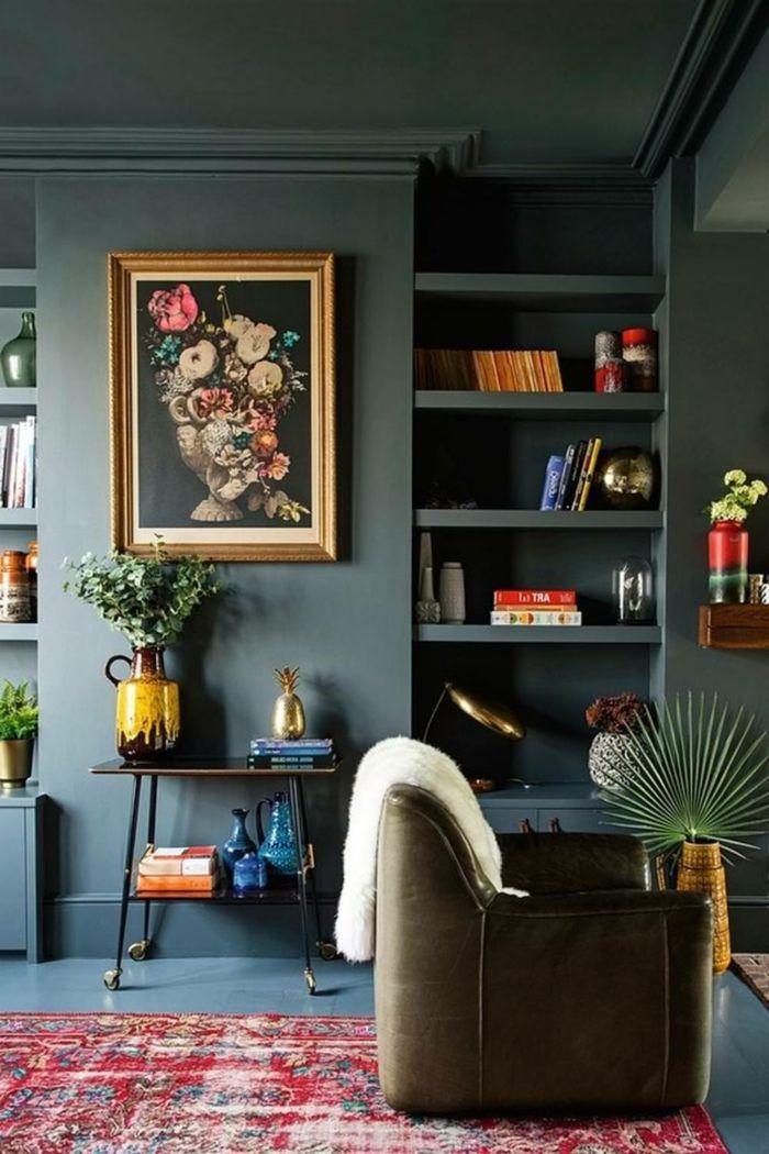 1001 ideas sobre colores para salones y c mo pintar la sala de estar peluquer a y belleza - Pinturas para salones pequenos ...