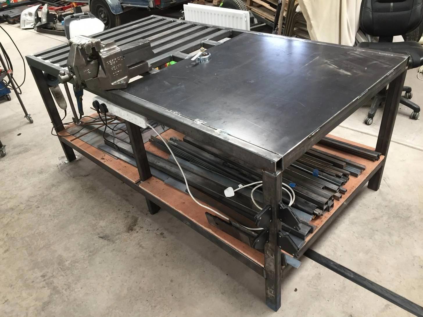 Portable welding table plans weldingtable welding table