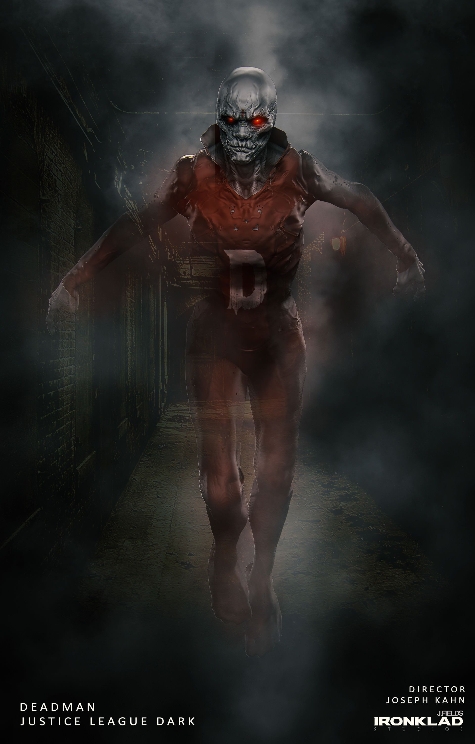 Deadman concept art | Justice league dark movie, Justice league dark, Justice league